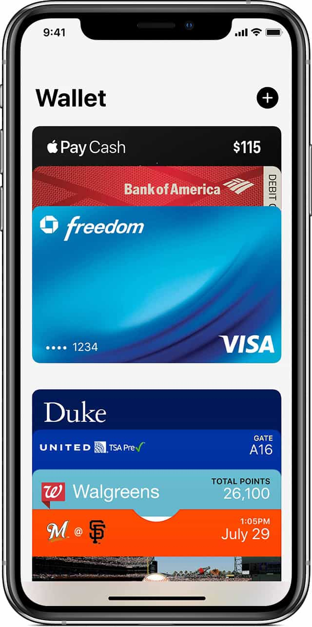 apple wallet phone image